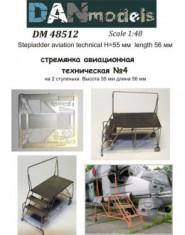 Stepladder aviation technical #4 (2 steps), height 55mm length 56 мм