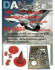 MiG-21: exhaust & intake covers and decals