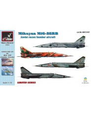 MiG-25RB Foxbat, resin+PE conversion set