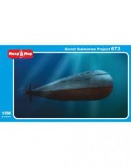 "Soviet submarine ""Project 673"""