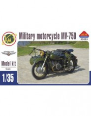 Soviet military motorcycle with sidecar MV-750