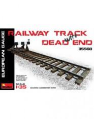 Railway track & dead end (European Gauge)