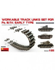 Workable track links set for Pz.III/Pz.IV, early type