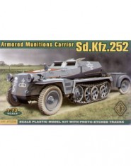 Sd.Kfz.252 German armored munitions carrier