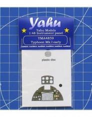 Instrument Panel Typhoon Mk.I early