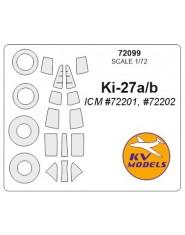 Masca Ki-27 a/b (ICM)