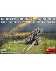 GERMAN ROCKET LAUNCHER with 28cm WK Spr & 32cm WK Flamm