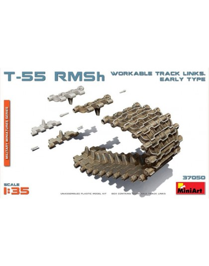 T-55 RMSh WORKABLE TRACK LINKS. EARLY TYPE