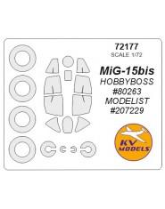 Masca MiG-15 bis (Hobby Boss)