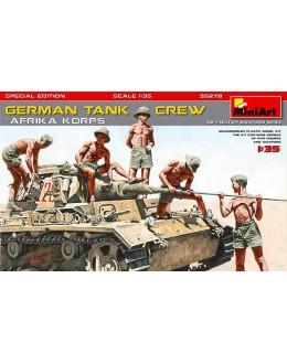 "GERMAN TANK CREW ""Afrika Korps"""